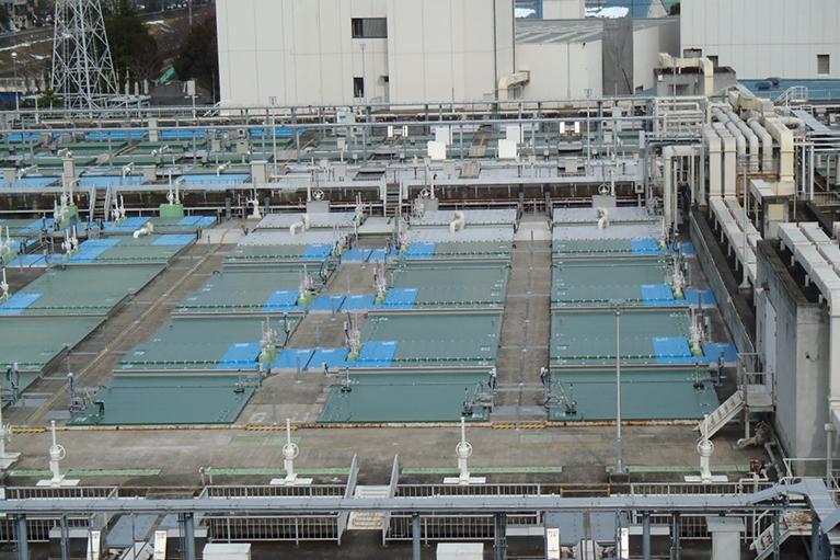 栄第二水再生センター水処理施設