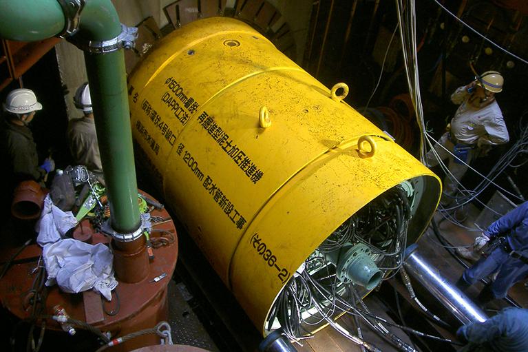 環状4号線口径1200㎜排水管新設