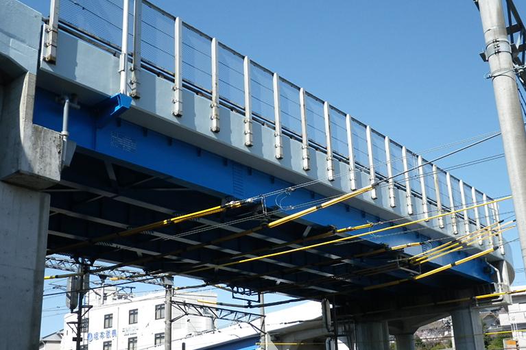 さちが丘橋補修工事