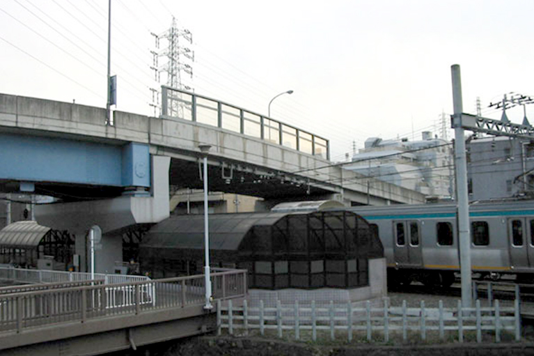 相鉄線和田町1号踏切道立体交差